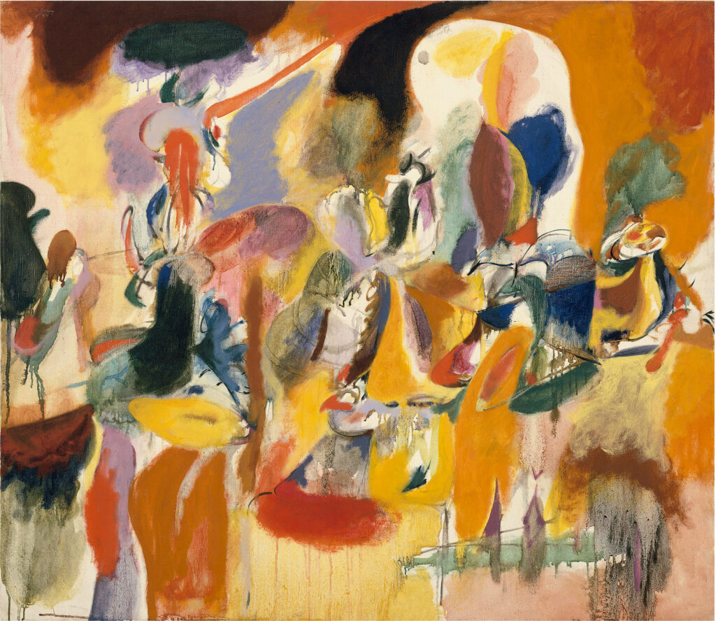 Arshile Gorky, Water of the Flowery Mill, 1944