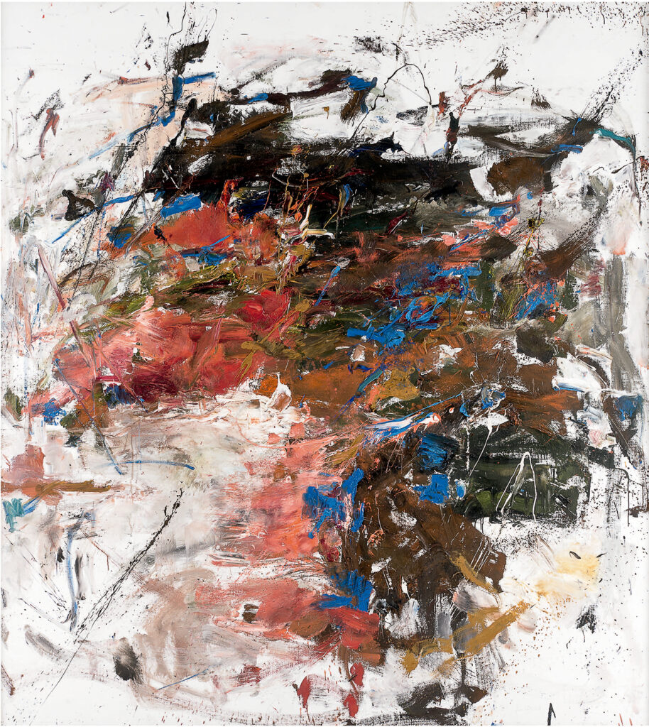 Joan Mitchell, Mandres, 1961-62