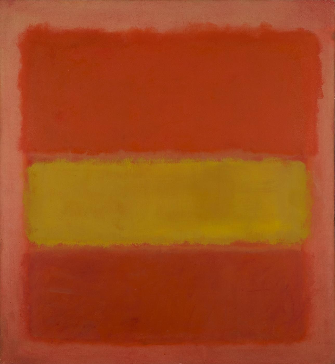 Mark Rothko, Yellow Band, 1956