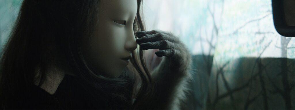 (Sin título) Máscara humana [(Untitled) Human Mask, 2014]