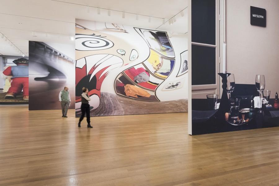 Vista de la exposición Fotografía de Martin Seck