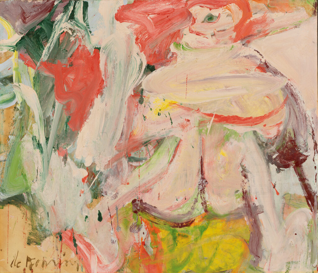 Willem de Kooning, Untitled (Woman in Forest), ca. 1963-64