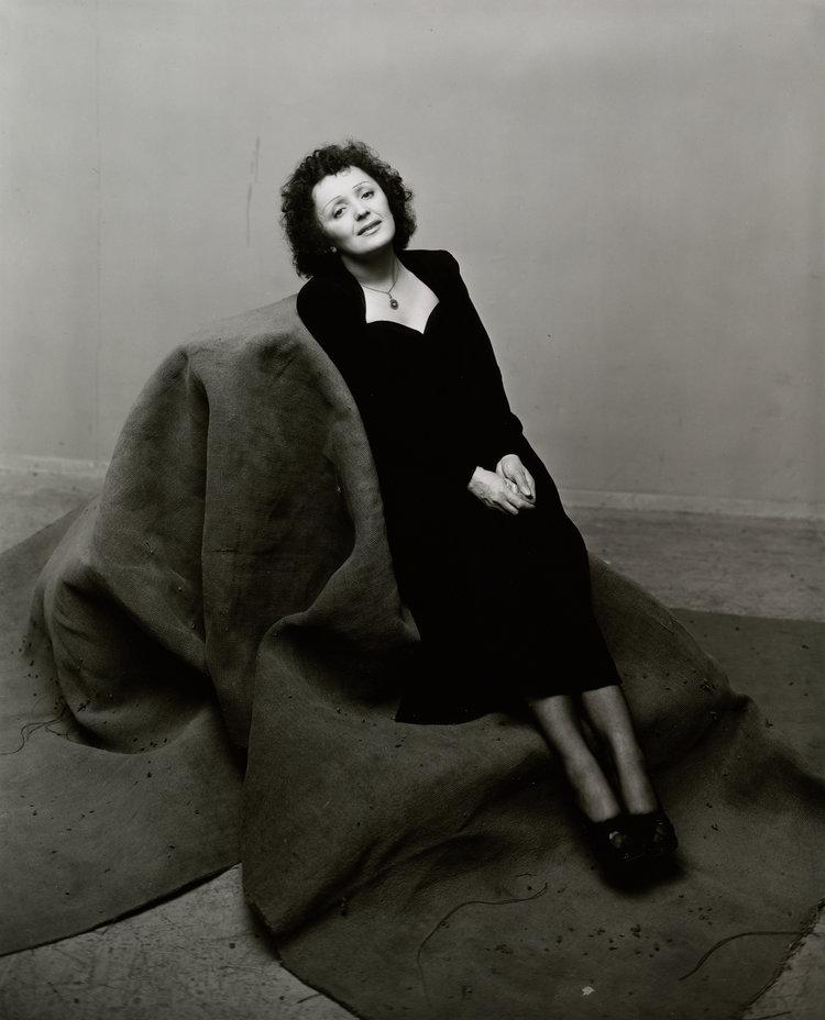 Edith Piaf, Nueva York, 1948