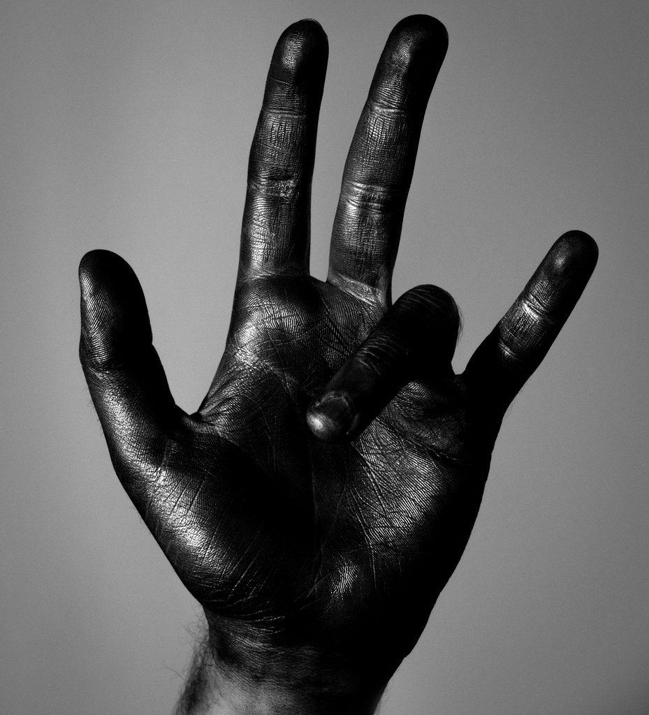 Miles Davis Hand