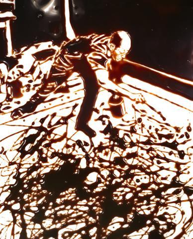 Vik Muniz, Jackson Pollock