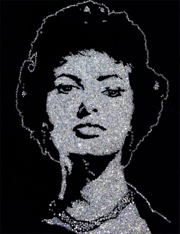 Vik Muniz, Sophia Loren