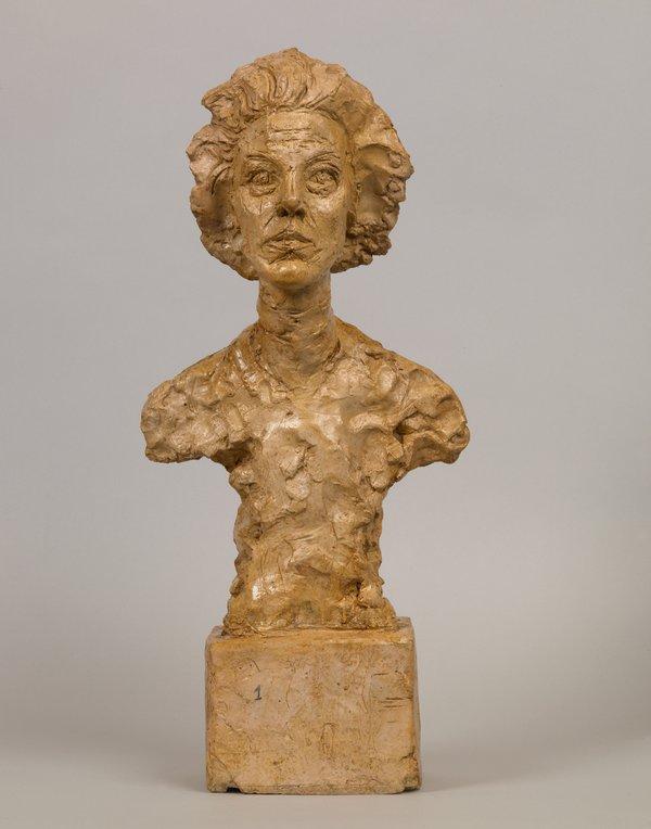 Bust of Annette VII 1962 Collection Fondation Alberto et Annette Giacometti, Paris (inv. 1994-0246) © Alberto Giacometti Estate, ACS+DACS, 2017