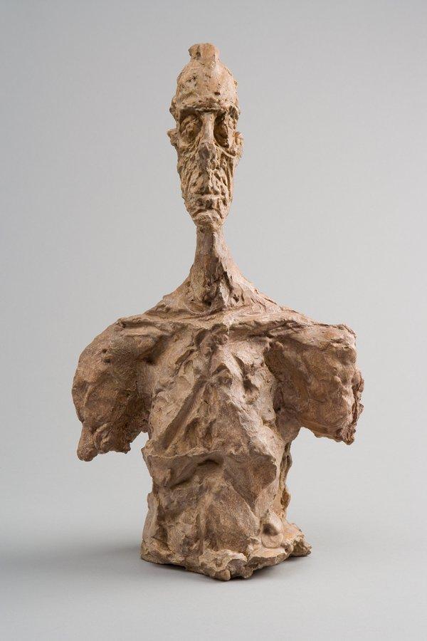 Bust of Diego c. 1956 Collection Fondation Alberto et Annette Giacometti, Paris (inv. 1994-0275) © Alberto Giacometti Estate, ACS+DACS, 2017