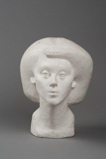 Head of Isabel 1936 Collection Fondation Alberto et Annette Giacometti, Paris (inv. 1994-0343) © Alberto Giacometti Estate, ACS+DACS, 2017