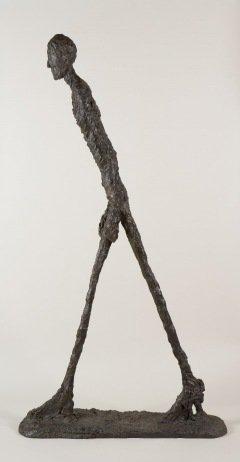 Walking Man I 1960 Collection Fondation Alberto et Annette Giacometti, Paris (inv. 1994-0186) © Alberto Giacometti Estate, ACS+DACS, 2017