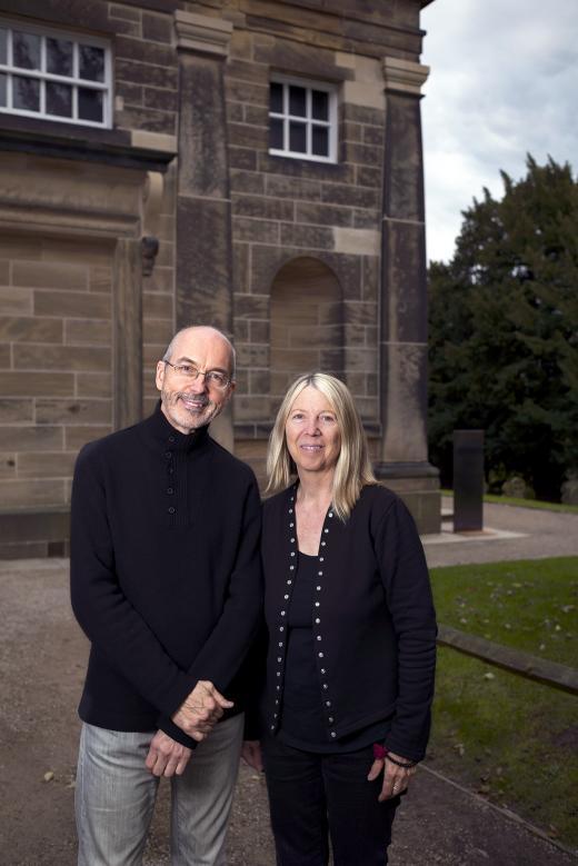Bill Viola y Kira Perov, Foto Jonty Wilde