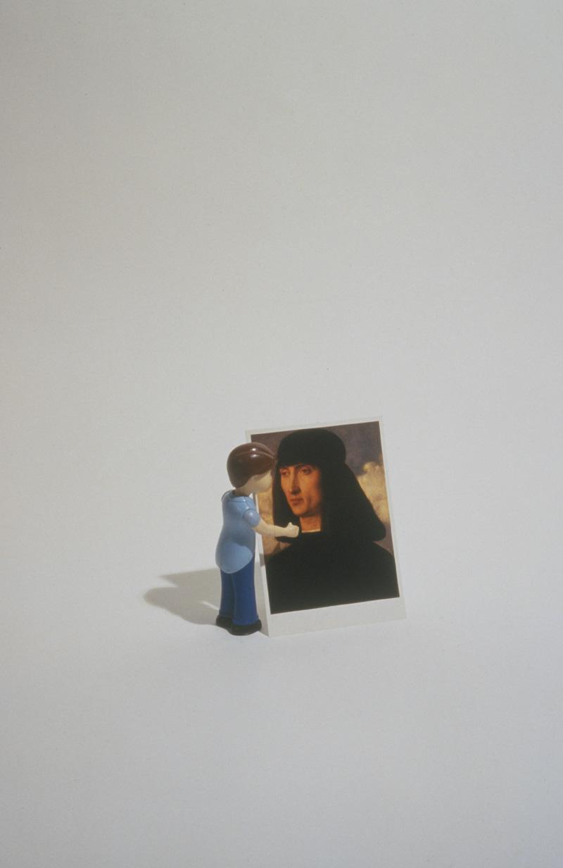 Boy with Postcard, 1998