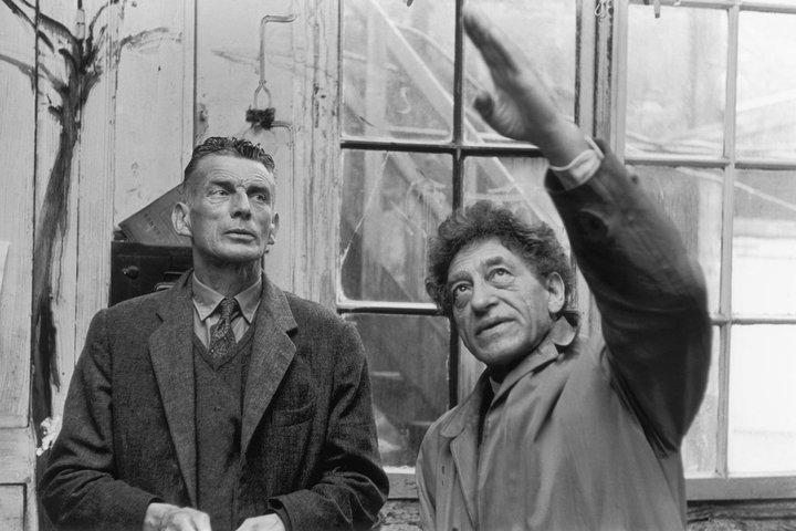 Giacometti y Samuel Beckett, Photo Georges Pierre