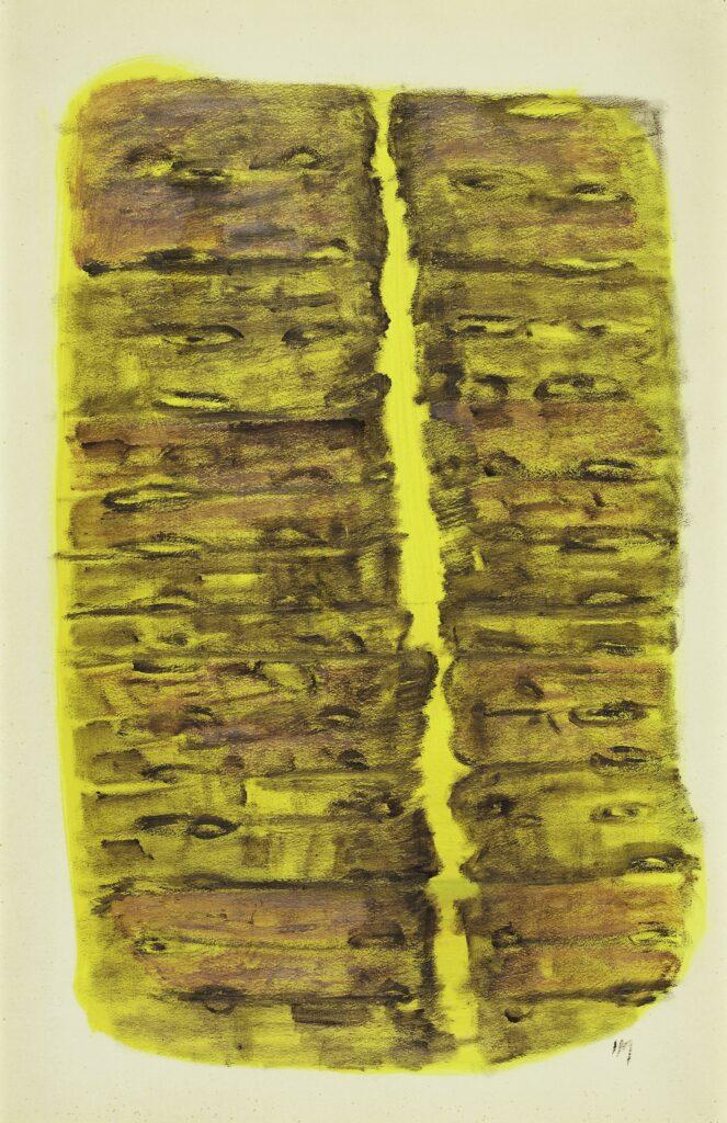 Pintura mescalínica (Peinture mescalinienne), 1956