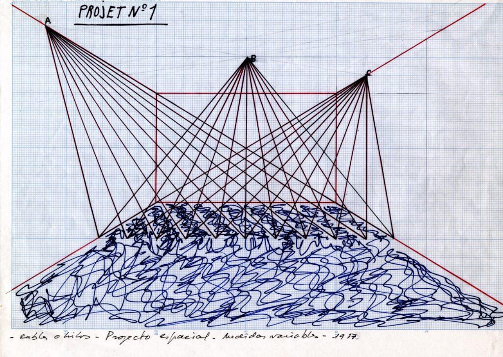 Serie Proyectos espaciales, 1977