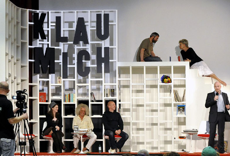 Klau Mich - radicalism in society meets experiment on TV, Documenta 13, Kassel, 2013