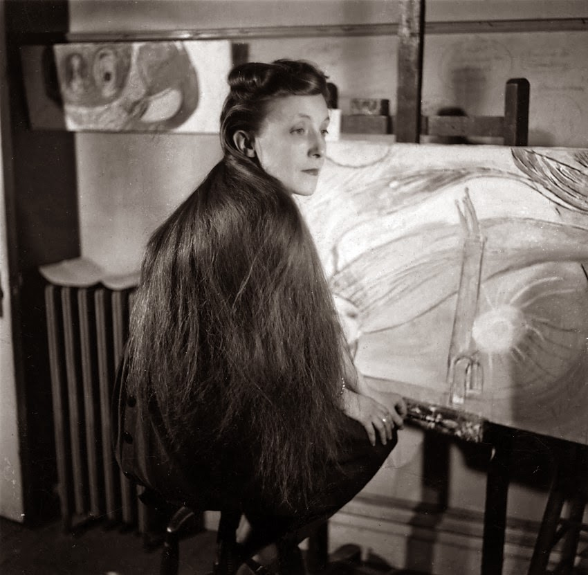 Louise Bourgeois 1946 en New York
